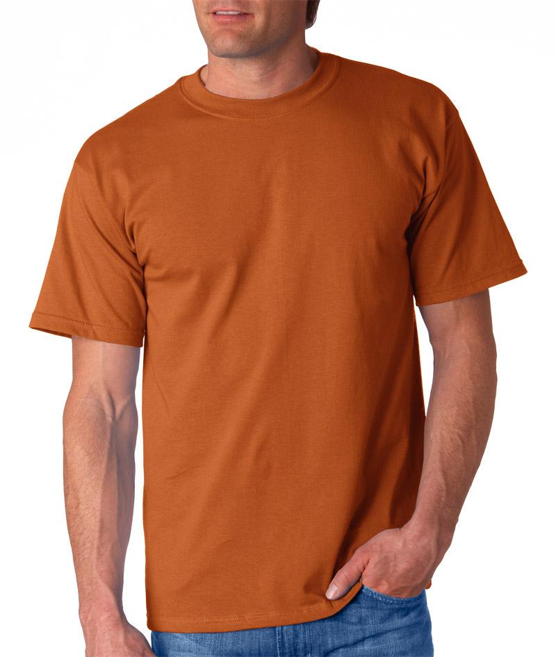 Blank Men S Burnt Orange T Shirt Rnk Shops