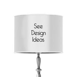 "8"" Drum Lamp Shade - Poly-film"