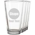 Beer Glasses (Set of 4)