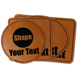 Faux Leather Iron On Patch