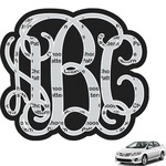 Interlocking Monogram Car Decal