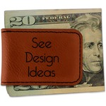 Leatherette Magnetic Money Clips