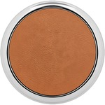 Leatherette Round Coasters w/ Silver Edge - Single or Set