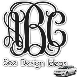 Monogram Car Decal