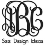 Monogram Decals - Custom Sized