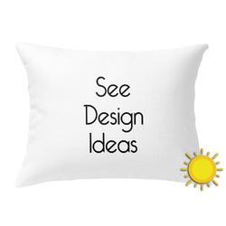 Outdoor Throw Pillow (Rectangular)