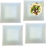 Set of 4 - Square Dinner Plates