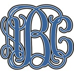 Monogram Decal - Custom Sized