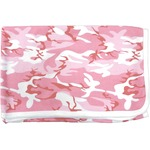 Baby Receiving Blanket by Baby Milano- Pink Camo