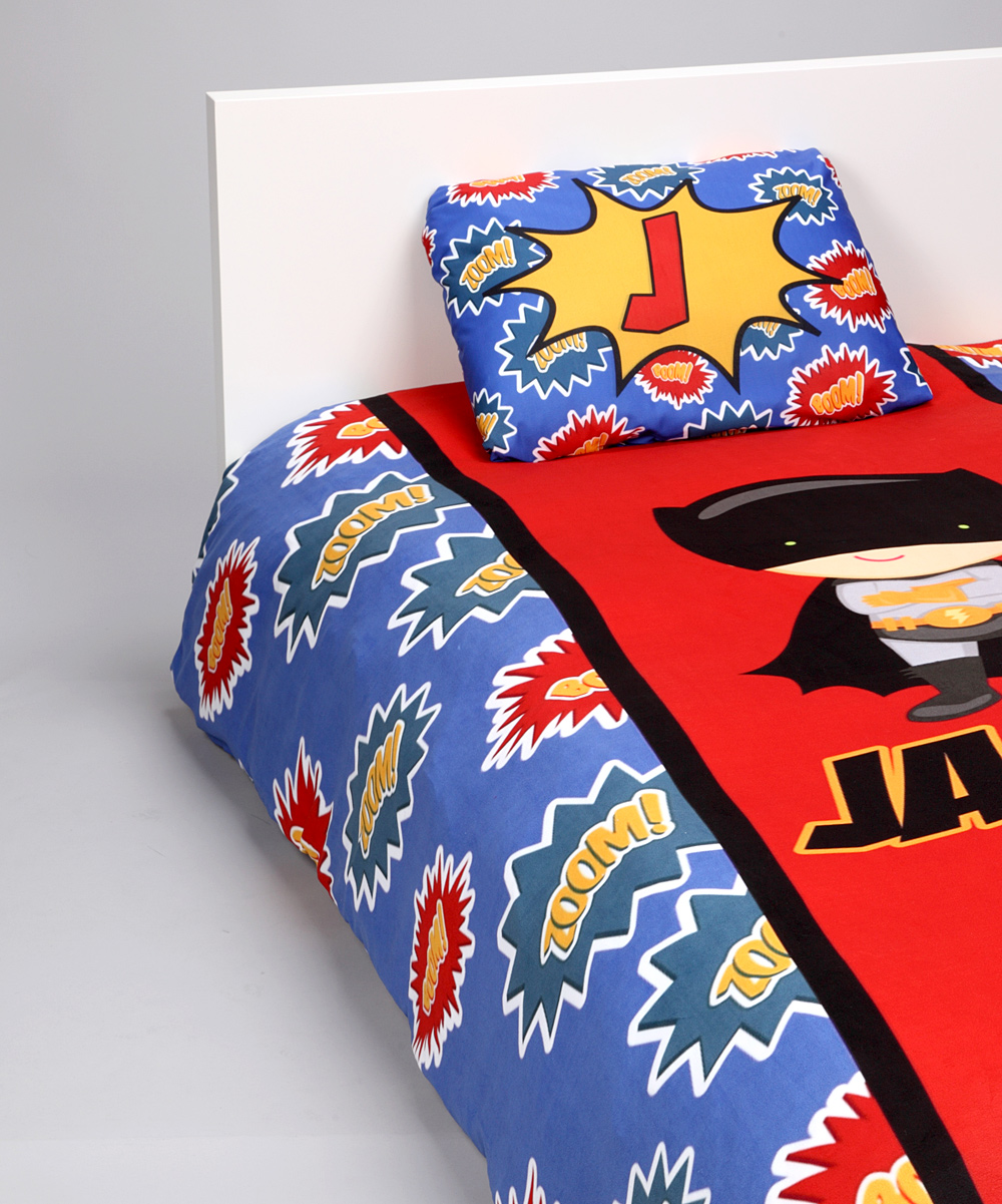 Superhero Duvet Cover Set Personalized RNK Shops
