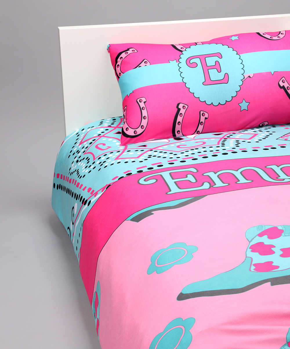 Cowgirl Duvet Cover Set Personalized Youcustomizeit