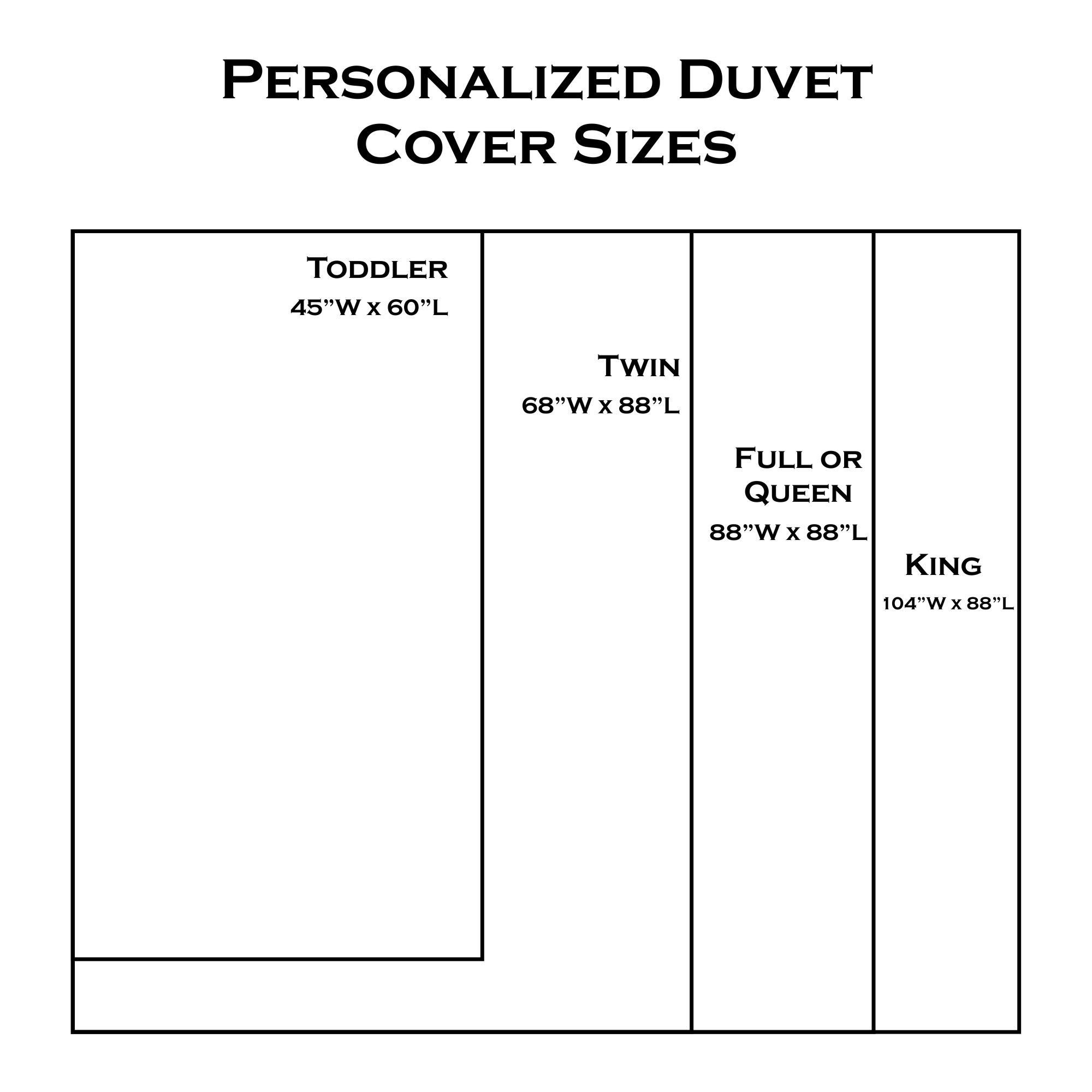 Personalized Duvet Cover - YouCustomizeIt