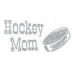 Hockey Mom Iron On