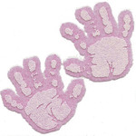 Iron On Transfers - Pink Baby Hands