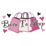Born To Shop -  Iron On Transfer