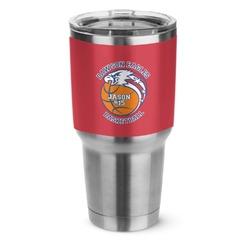 Dawson Basket Ball Stainless Steel Tumbler - 30 oz (Personalized)