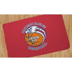 Dawson Basket Ball Area Rug (Personalized)