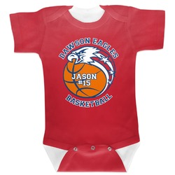 Dawson Basket Ball Baby Bodysuit (Personalized)