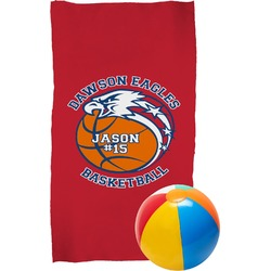 Dawson Basket Ball Beach Towel (Personalized)