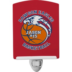 Dawson Basket Ball Ceramic Night Light (Personalized)