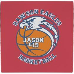 Dawson Basket Ball Ceramic Tile Hot Pad (Personalized)