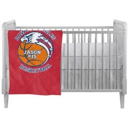 Dawson Basket Ball Crib Comforter / Quilt (Personalized)