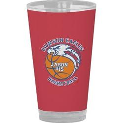 Dawson Basket Ball Drinking / Pint Glass (Personalized)