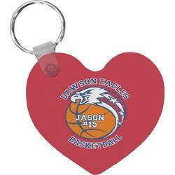Dawson Basket Ball Heart Keychain (Personalized)
