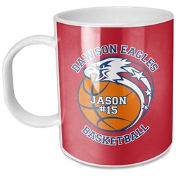 Dawson Basket Ball Plastic Kids Mug (Personalized)