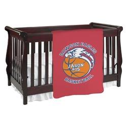 Dawson Basket Ball Baby Blanket (Personalized)