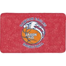 Dawson Basket Ball Bath Mat (Personalized)