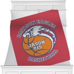 Dawson Basket Ball Blanket (Personalized)