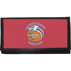 Dawson Basket Ball Canvas Checkbook Cover (Personalized)