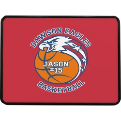 Dawson Basket Ball Rectangular Trailer Hitch Cover (Personalized)