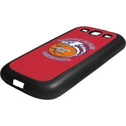 Dawson Basket Ball Rubber Samsung Galaxy 3 Phone Case (Personalized)