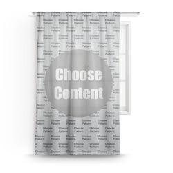 Dawson Basket Ball Sheer Curtains (Personalized)