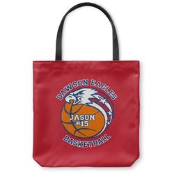 Dawson Basket Ball Canvas Tote Bag (Personalized)