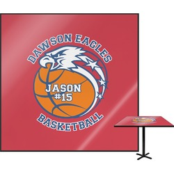 Dawson Basket Ball Square Table Top (Personalized)