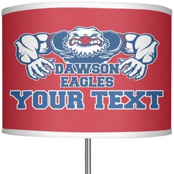 "Strong Dawson Eagle 13"" Drum Lamp Shade (Personalized)"