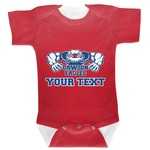 Strong Dawson Eagle Baby Bodysuit (Personalized)