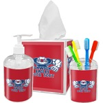 Strong Dawson Eagle Bathroom Accessories Set (Personalized)