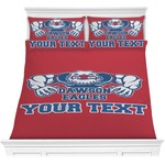 Strong Dawson Eagle Comforter Set (Personalized)