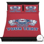 Strong Dawson Eagle Duvet Cover Set (Personalized)