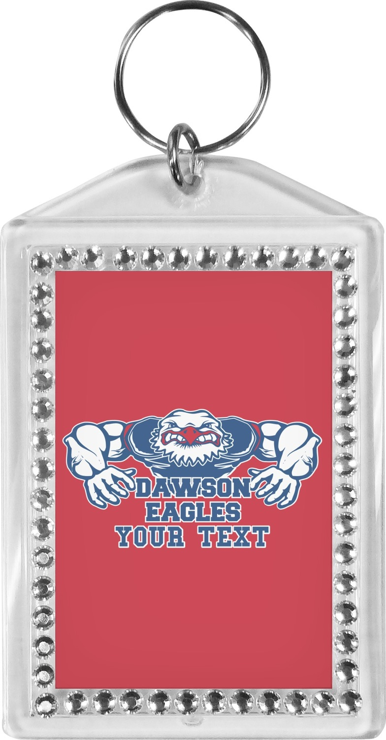 Strong Dawson Eagle Bling Keychain (Personalized) - YouCustomizeIt 0d84ae2e0