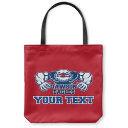 Strong Dawson Eagle Canvas Tote Bag (Personalized)