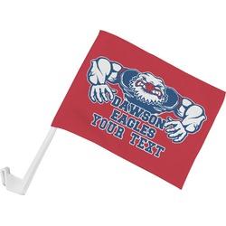 Strong Dawson Eagle Car Flag (Personalized)