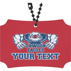 Strong Dawson Eagle Rear View Mirror Ornament (Personalized)