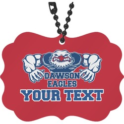 Strong Dawson Eagle Rear View Mirror Charm (Personalized)