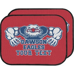 Strong Dawson Eagle Car Floor Mats (Back Seat) (Personalized)