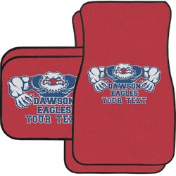 Strong Dawson Eagle Car Floor Mats Set - 2 Front & 2 Back (Personalized)